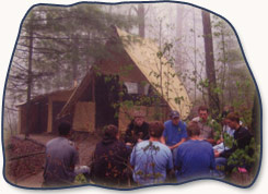 Therapeutic camp pow wow