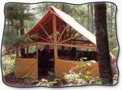 Therapeutic camping tent